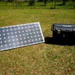 Emergency Portable Solar Generator
