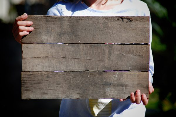 Pre-Assembled Blank Pallet Wood Sign